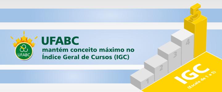 UFABC mantém o conceito máximo no Índice Geral de Cursos (IGC)