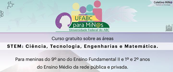 Curso de extensão UFABC para MiN@s