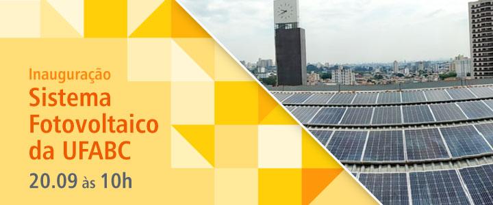UFABC inaugura usina fotovoltaica em seus dois campi