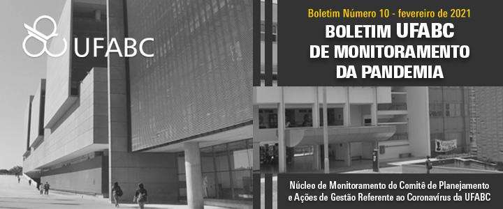 10º Boletim UFABC de Monitoramento da Pandemia