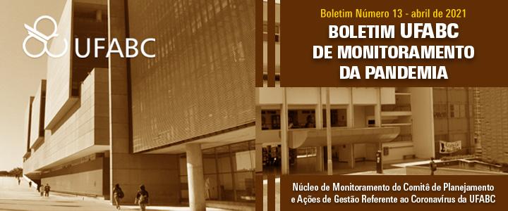13º Boletim UFABC de Monitoramento da Pandemia