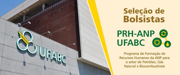 O PRH-ANP da UFABC publica edital com 13 bolsas para discentes da UFABC