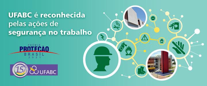 UFABC é reconhecida por ações de segurança no trabalho