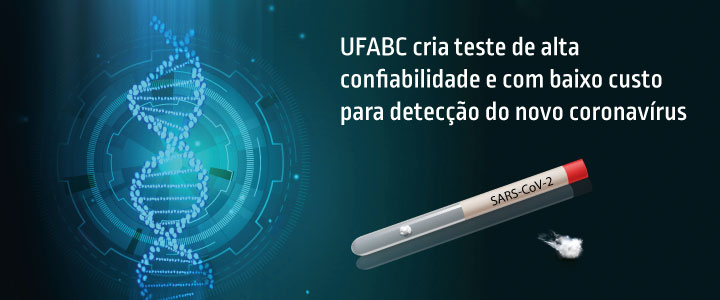 UFABC cria teste de alta confiabilidade e baixo custo para o novo coronavírus