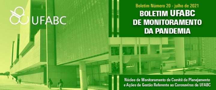 20º Boletim UFABC de Monitoramento da Pandemia